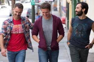 FOR TV – LOOKING - HBO -- LOOKING: Murray Bartlett, Jonathan Groff, Frankie J. Alvarez. photo: John P. Johnson